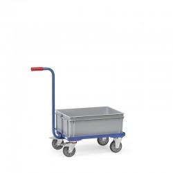 Griffroller mit offenem Rahmen und Kunststoffkasten kaufen
