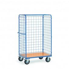 Paketwagen mit Drahtgitterwänden-hoch