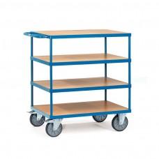 Tischwagen mit 4 Etagen - 600kg Tragkraft
