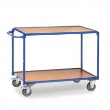 Tischwagen mit 2 Böden, Griff waagerecht