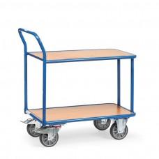 Tischwagen mit 2 Etagen - 400kg Traglast