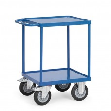 Tischwagen mit 2 Randböden - 600 x 600 mm