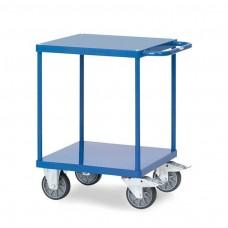 Tischwagen mit 2 Böden - 600 x 600 mm