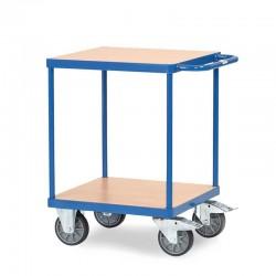 Tischwagen mit 2 Böden - 600 x 600 mm Holz-Plattform kaufen