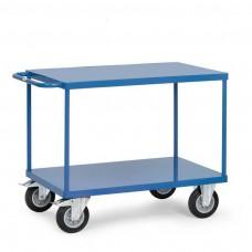 Tischwagen mit 2 Stahlblech-Plattformen
