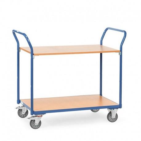 Tischwagen mit 2 Böden