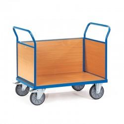Holzwand-Dreiwandwagen mit Stirnwand aus Holz kaufen