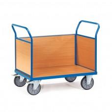 Holzwand-Dreiwandwagen mit Stirnwand aus Holz