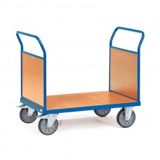 Holzwand-Doppelstirnwandwagen mit Stirnwand aus Holz
